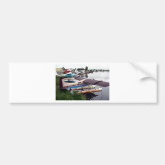 Float planes, Lake Hood, Anchorage, Alaska, USA 18 Bumper Sticker