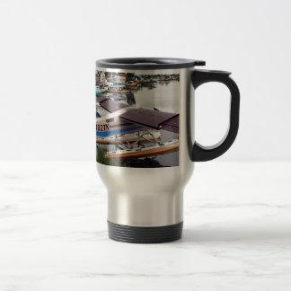 Float planes, Lake Hood, Anchorage, Alaska, USA 18 Travel Mug