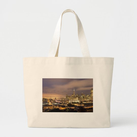 Float up to the Home of the Gods Large Tote Bag
