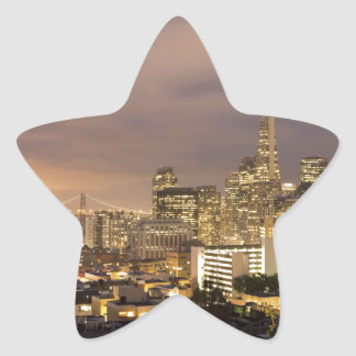 Float up to the Home of the Gods Star Sticker