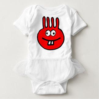 Floatie Monster red Baby Bodysuit