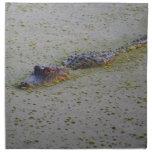 Floating Alligator Cloth Napkin