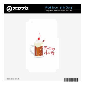 Floating Away iPod Touch 4G Skins