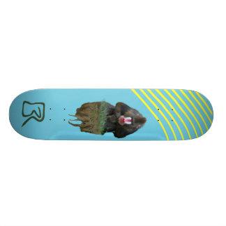 Floating Baboon Skateboard Deck