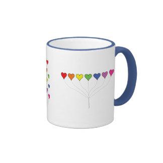 Floating Balloon Hearts Mug