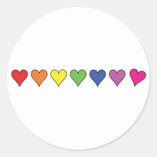 Floating Balloon Hearts - Sticker