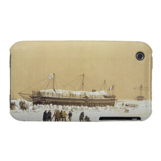 Floating battery La Tonnante in the ice before Kil iPhone 3 Case-Mate Case