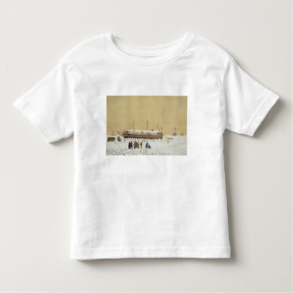 Floating battery La Tonnante in the ice before Kil Tee Shirts