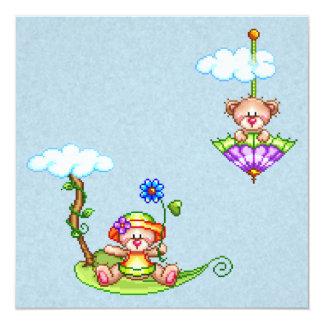 Floating Bears Pixel Art Announcements