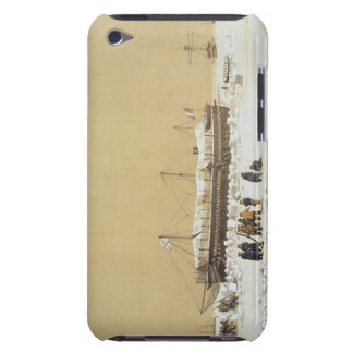 Floating bery La Tonnante in the ice before Kil Case-Mate iPod Touch Case