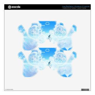 Floating Bike PS3 Controller Skins
