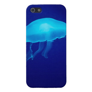 Floating Blue Jellyfish iPhone 5/5S Covers
