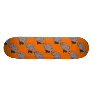 "Floating Brain 7 7/8"" Skateboard"