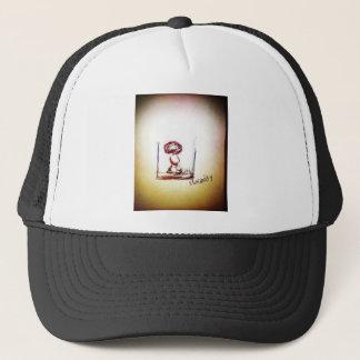 Floating Brain Bio Trucker Hat