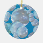 Floating Bubbles Christmas Ornament