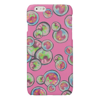 Floating Bubbles Glossy iPhone 6 Case