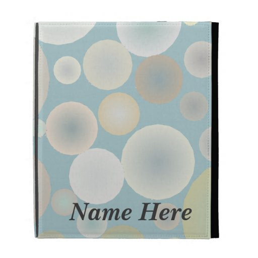 Floating Bubbles iPad Cases