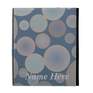 Floating Bubbles iPad Folio Case