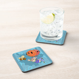 Floating Bumble Elf Balloons Drink Coaster