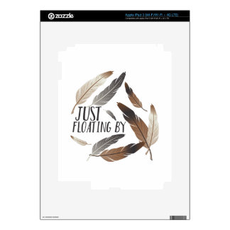 Floating By Decals For iPad 3