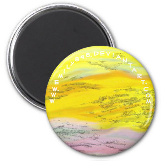 Floating By 2 Inch Round Magnet