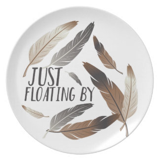 Floating By Melamine Plate