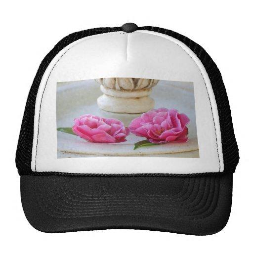 Floating Camelias Trucker Hat