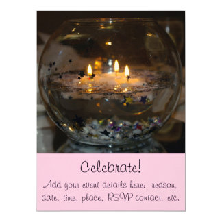 Floating Candles Card