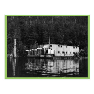 Floating Cannery, Elfin Cove Postcard
