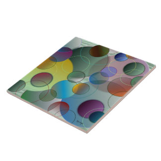 Floating Circles Tile
