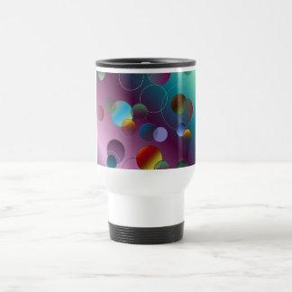 Floating Circles Travel Mug