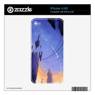 Floating City iPhone 4S Decals