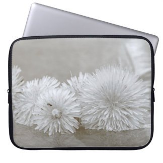 "Floating Dandelions on ""Water"" Laptop Case"