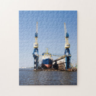 Floating Dry Dock Jigsaw Puzzle