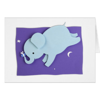 Floating Elephant Giftcard Card