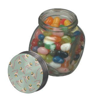 Floating Eyeballs Glass Jars