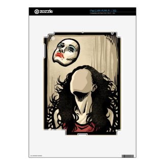 Floating Face Decals For The iPad 2