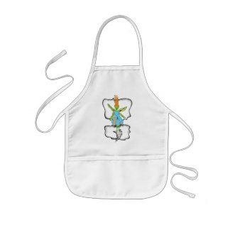 Floating Fairy Kids' Apron