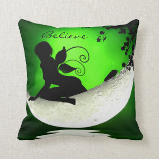 Floating fairy moon pillow