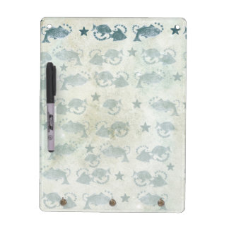 Floating Fish Dry Erase Message Board