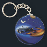 "Floating Flat Earth Firmament Sun &amp; Moon Key Chain<br><div class=""desc"">Floating Flat Earth Firmament Sun &amp; Moon Key Chain</div>"