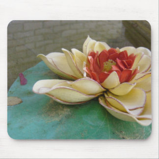 Floating Flower Mouse Pad