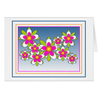 Floating Flowers 1 Card