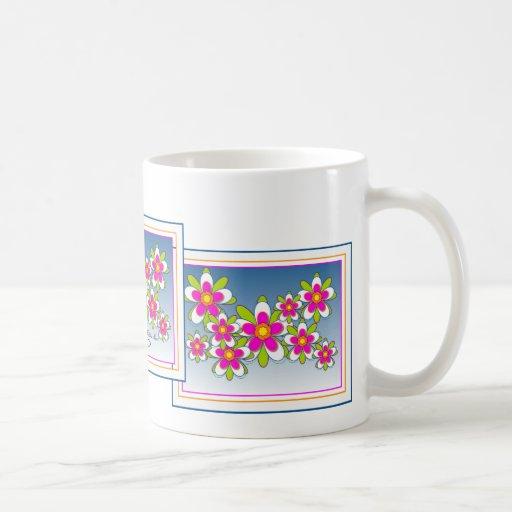 Floating Flowers 1 Mug