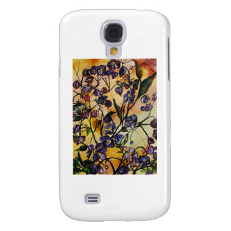 Floating Flowers Galaxy S4 Cases