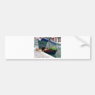 Floating greengrocer at venice bumper sticker
