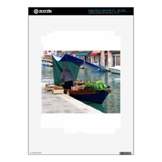 Floating greengrocer at venice iPad 3 skin