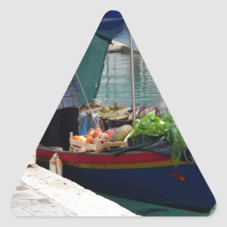 Floating greengrocer at venice triangle sticker