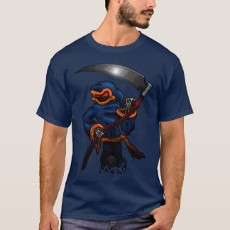Floating Grim Reaper with Scythe Style2 T-Shirt