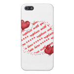 Floating Heart Balloons Photo Frame Case For iPhone 5